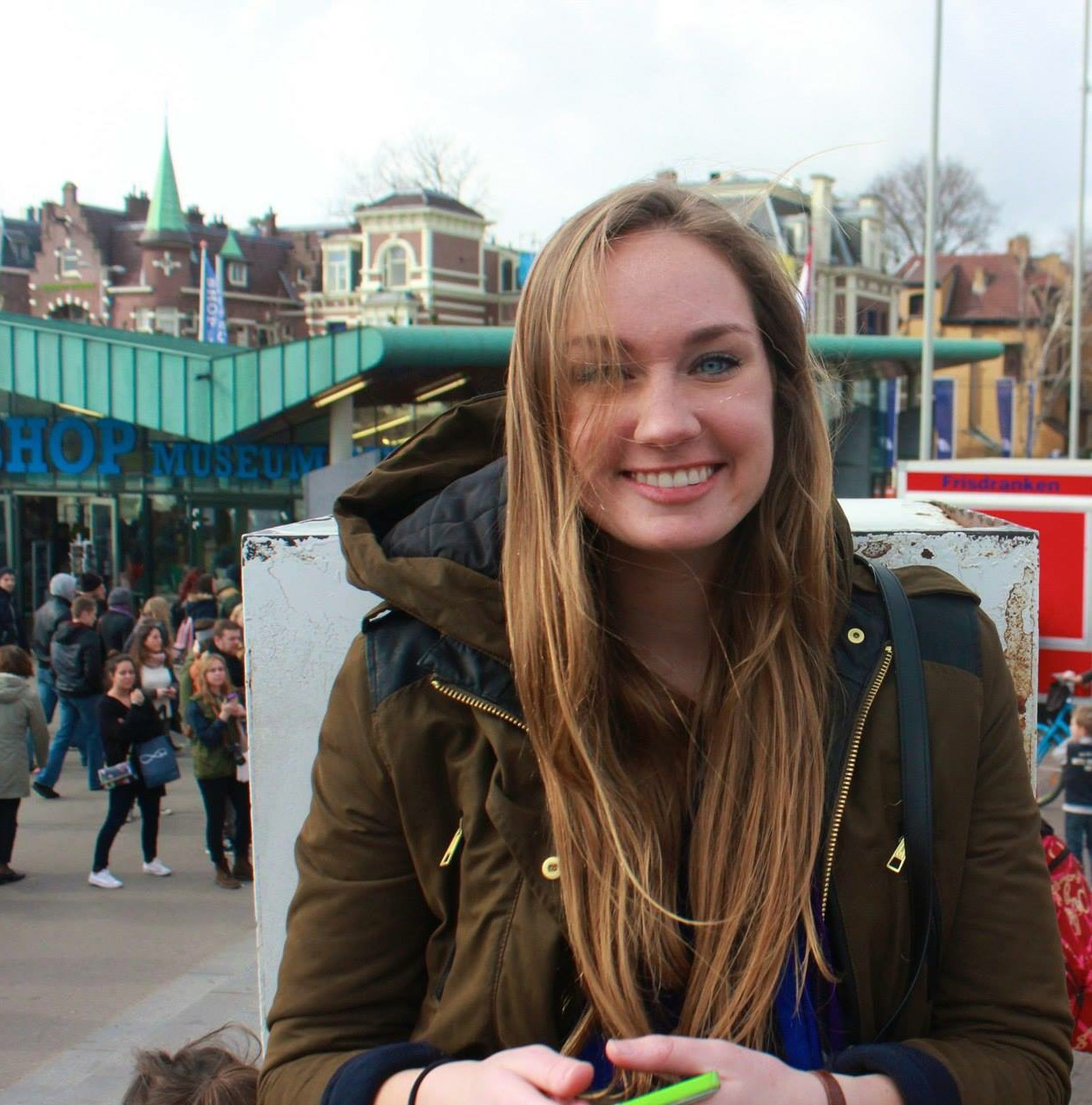 Sarah McMinimy, Undergraduate Student Fellow