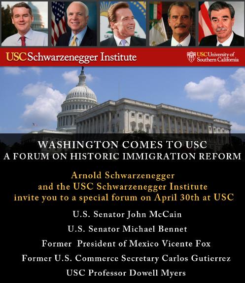 Latest News About Immigration Reform 2013: Washington Comes To USC: Immigration Reform Forum